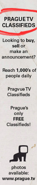 Prague TV Classifieds section