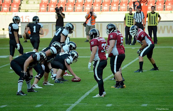 American Football Czech league finale