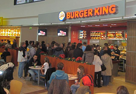 Burger King, Prague