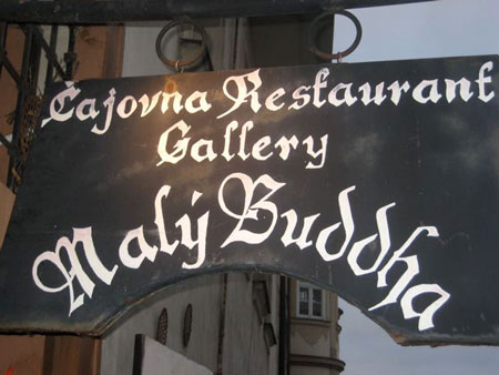 Restaurant Malý buddha, Prague