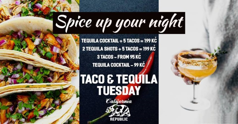 Spice up your night! Taco and Tequila Tuesday | Prague's TOP